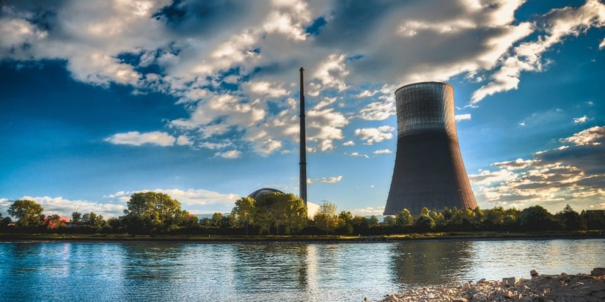 Nuclear Power Plant View